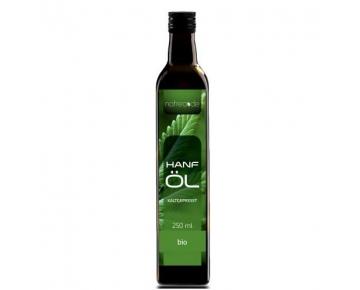 Natrea Bio Hanföl rein nativ | kaltgepresst aus 1. Pressung ✅ 100% reines BIO-Öl ✅ in 250 ml Lichtschutzflasche (1 x 0,25 l) ✅